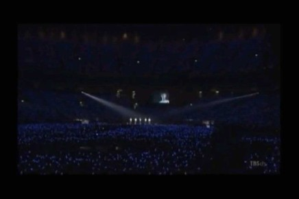 Stand By U at Tokyo Dome, all 5 members on stage. (Junsu's last tweet)
